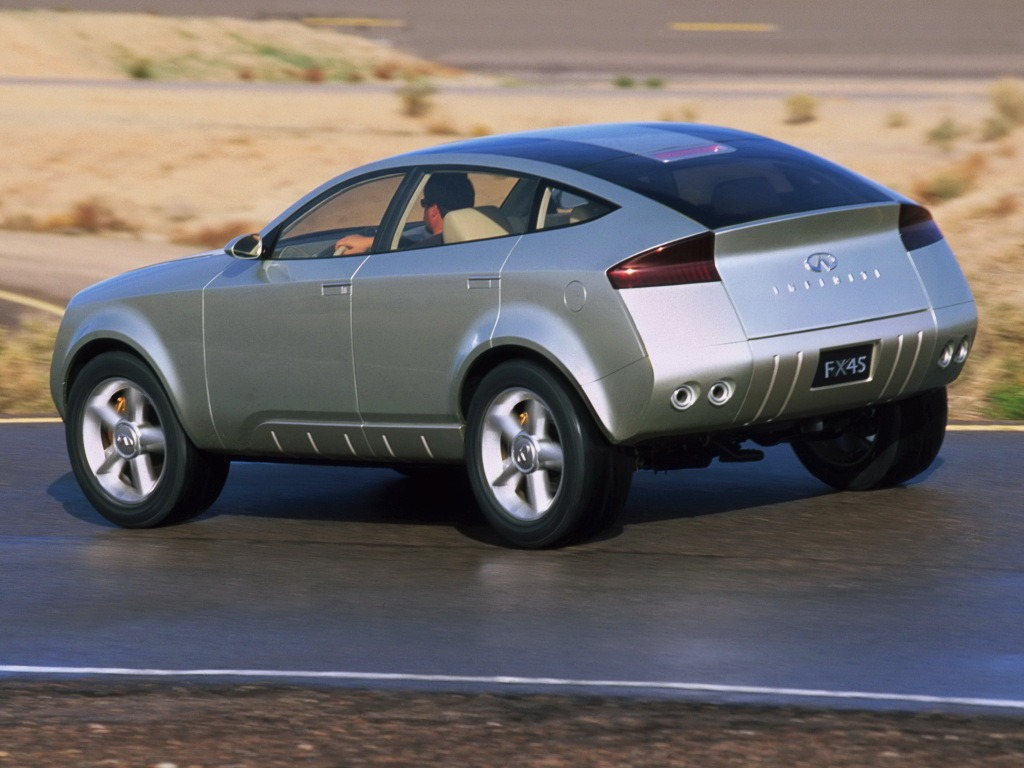 Infiniti Fx45 Concept 2001 Old Concept Cars