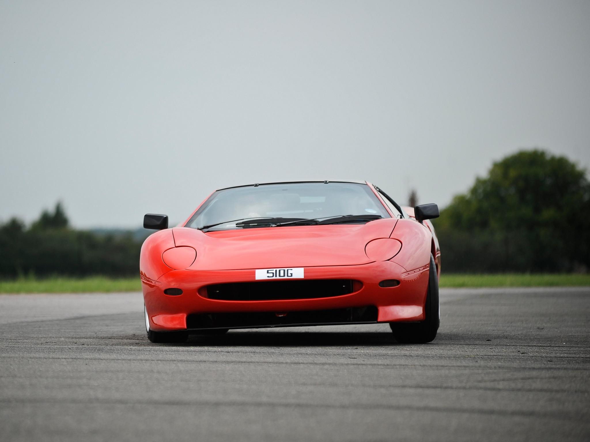 Top 10 Fastest Cars >> Jaguar XJ220 Concept & Prototype (1988-1990) - Old Concept Cars