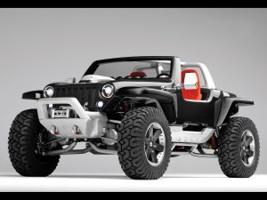 2005 Jeep(R) Hurricane Concept Vehicle