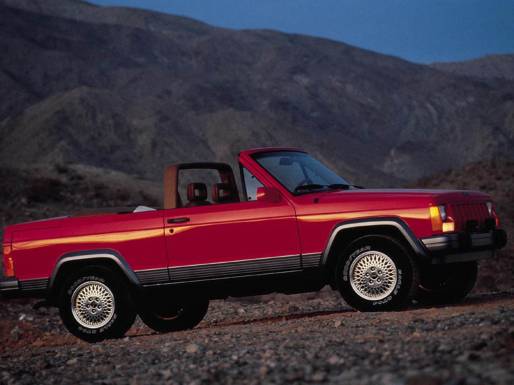 Used Jeep Wrangler Near Me >> Jeep Freedom Concept (1990) - Old Concept Cars