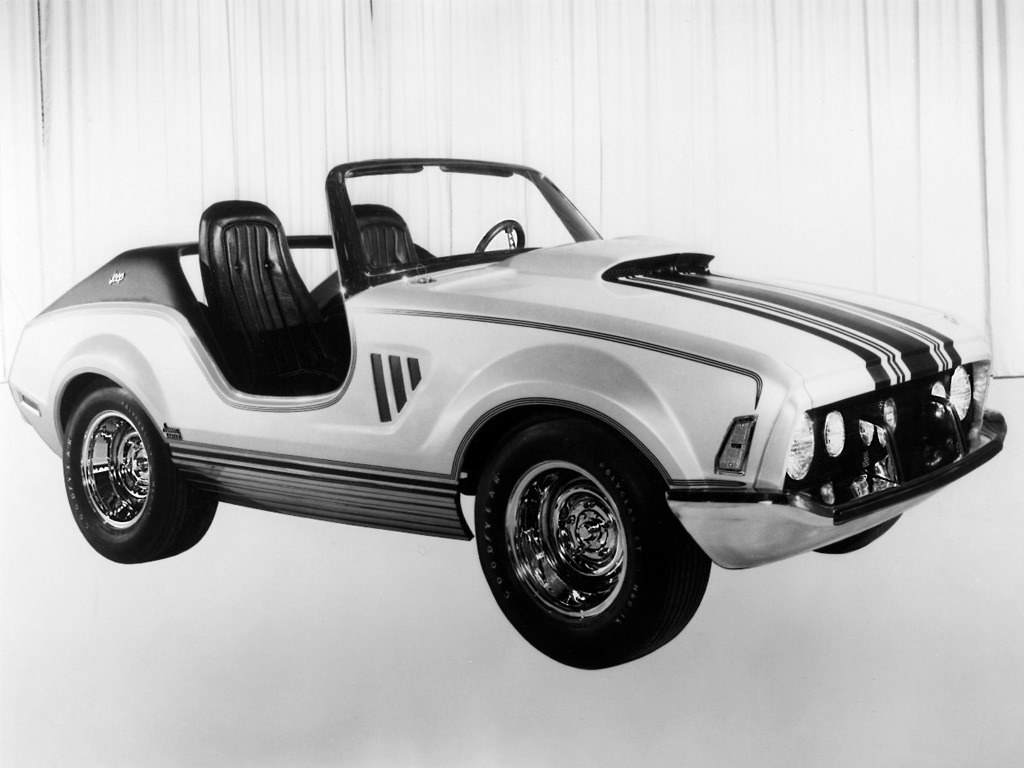Jeep Dealer Near Me >> Jeep XJ001 Concept (1969) - Old Concept Cars