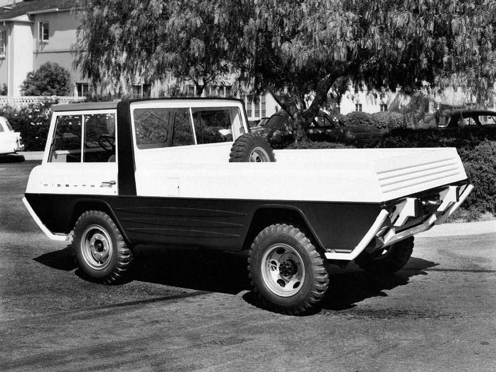 Kaiser-Willys Jeep Wide-Trac (1960) – Old Concept Cars