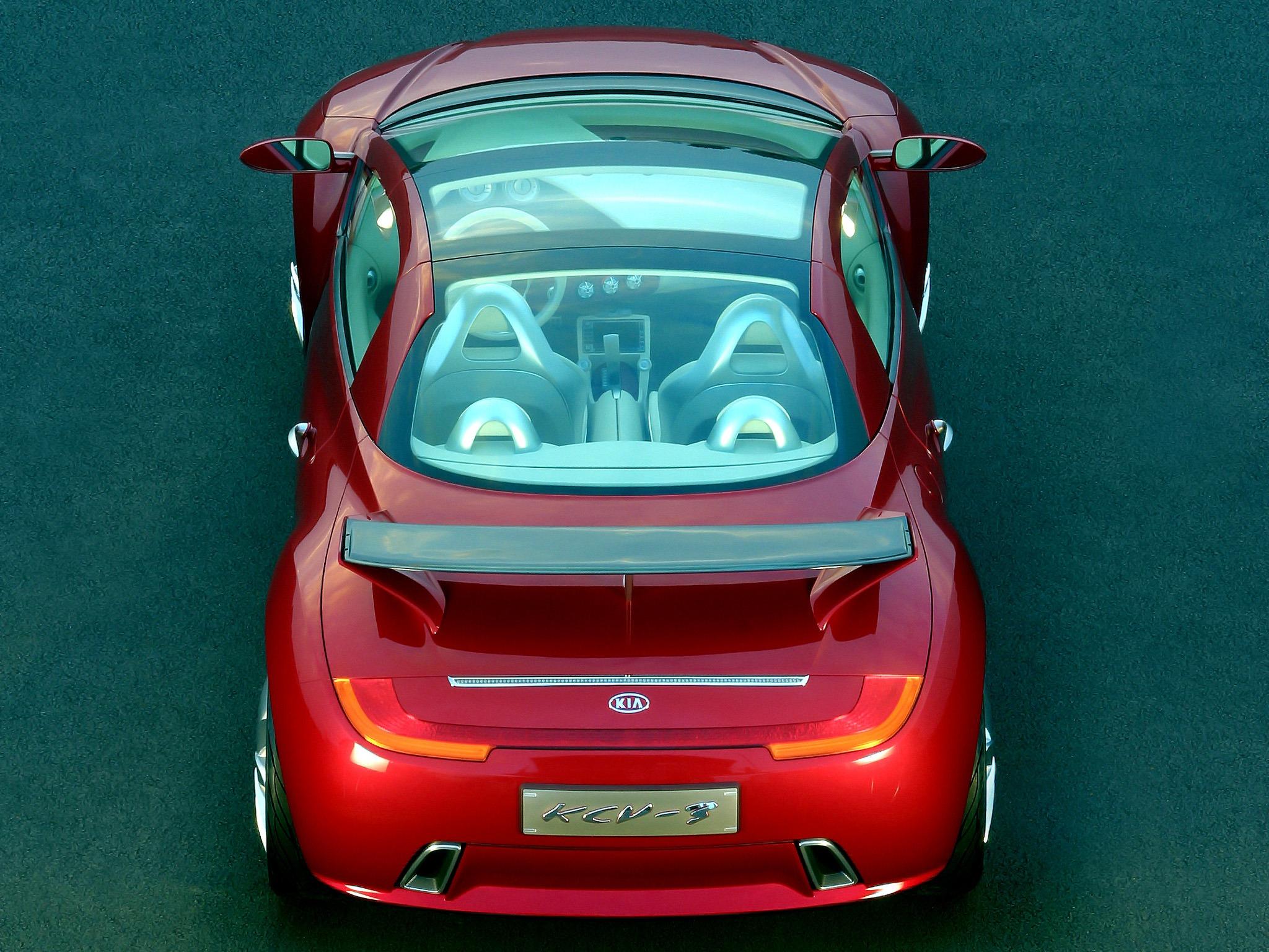 Kia Kcv Iii Concept 2003 Old Concept Cars