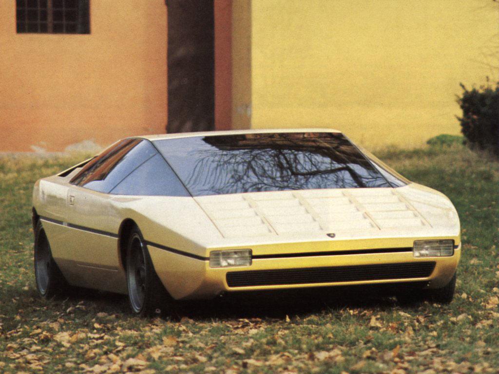 Lamborghini Bravo 1974 Old Concept Cars
