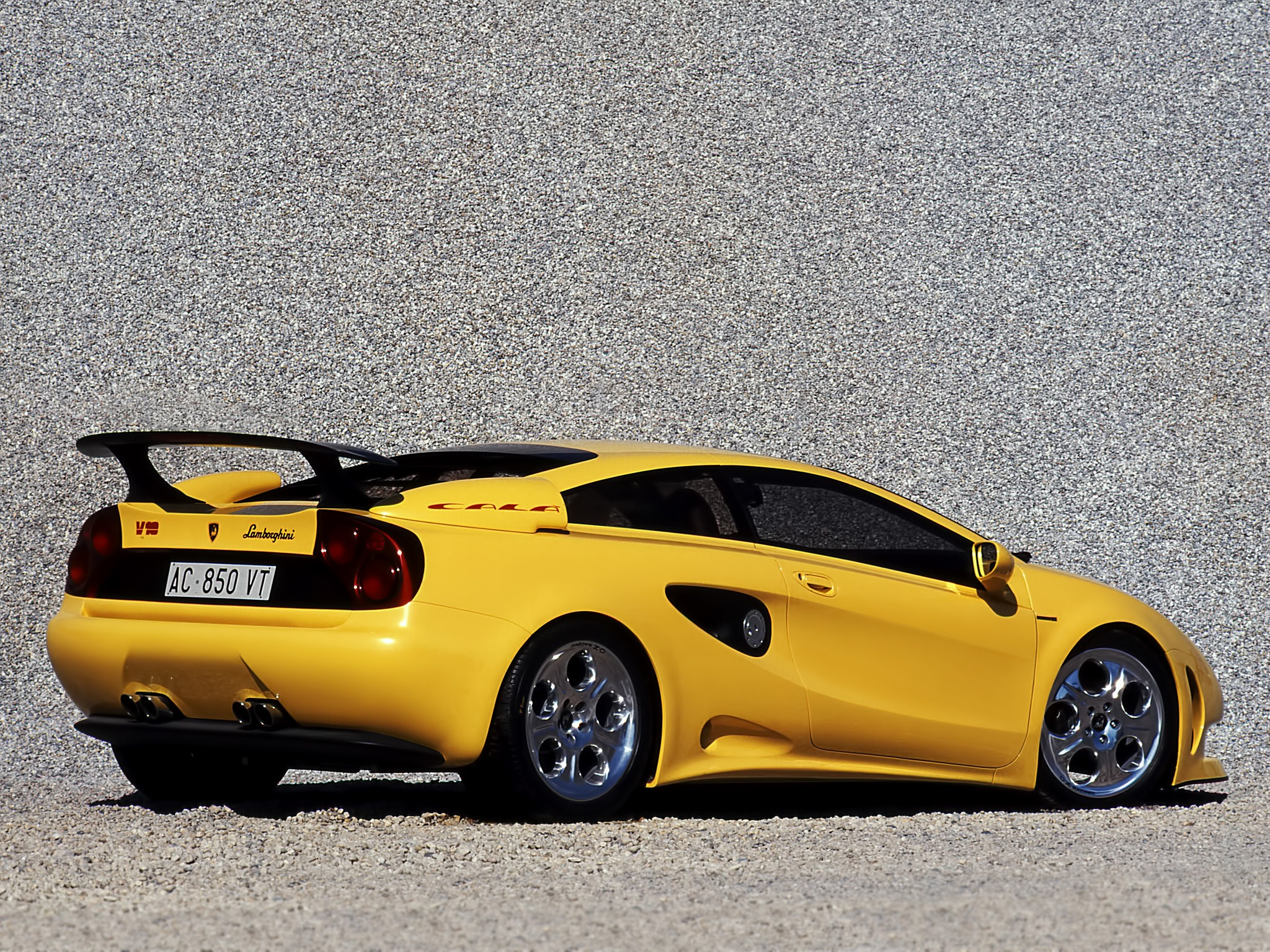 Lamborghini Cala 1995 Old Concept Cars