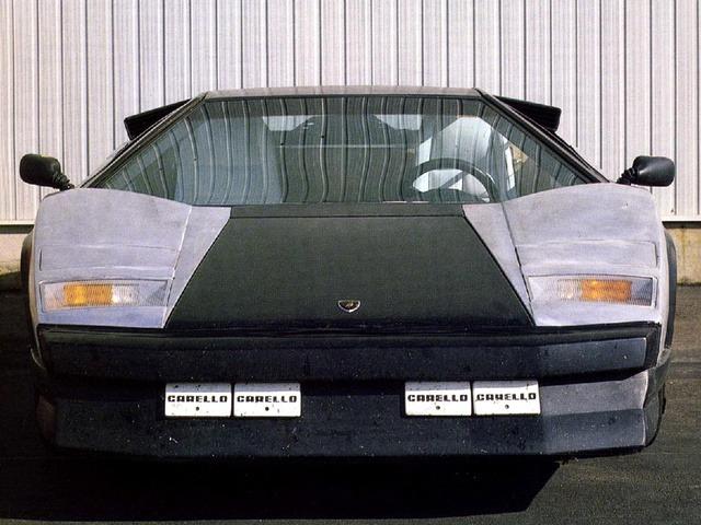 Lamborghini Countach Evoluzione 1987 Old Concept Cars