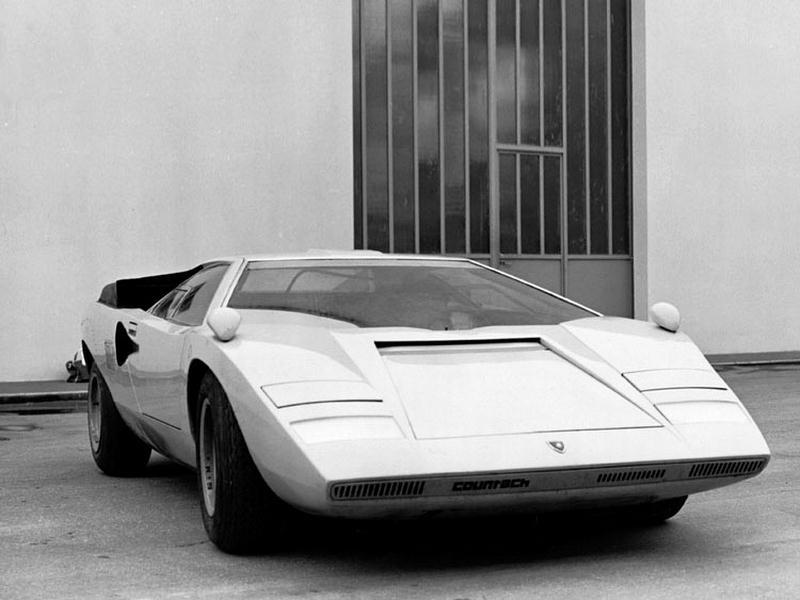 lamborghini countach lp500 prototype 1971 old concept cars. Black Bedroom Furniture Sets. Home Design Ideas