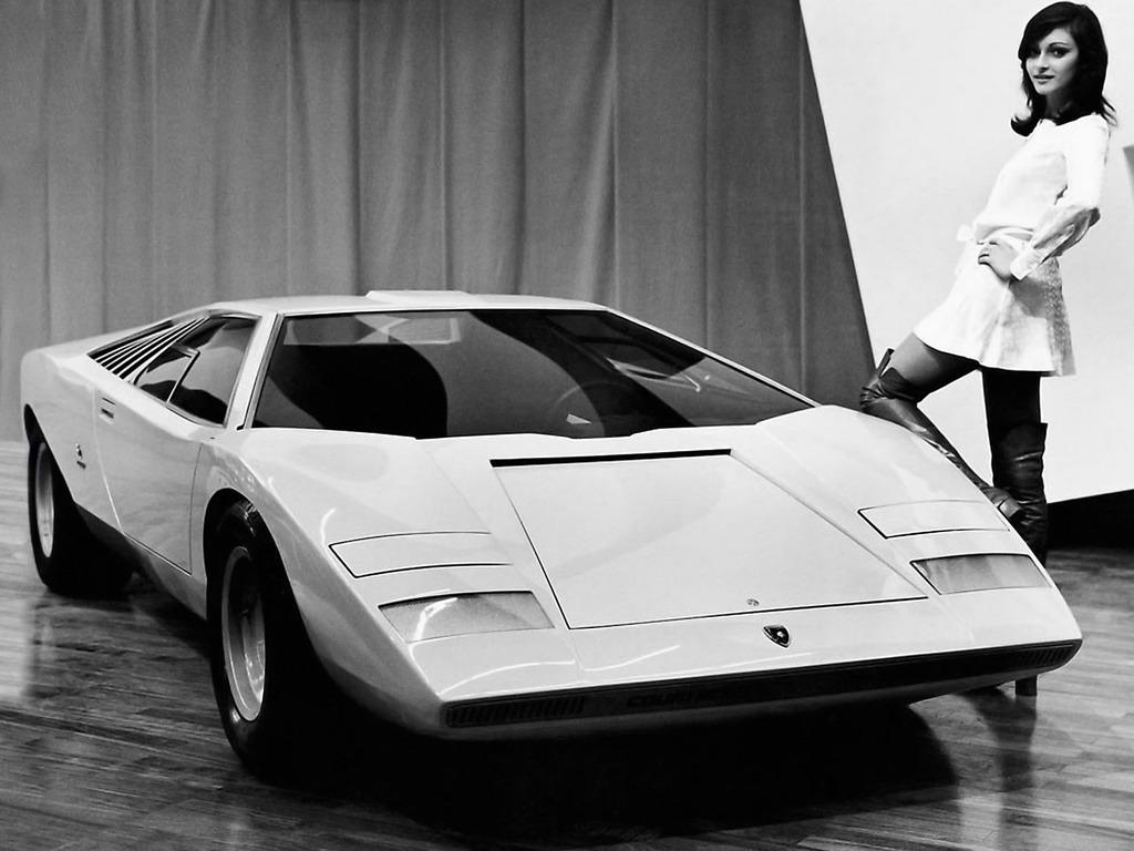 Lamborghini Countach Lp500 Prototype 1971 Old Concept Cars
