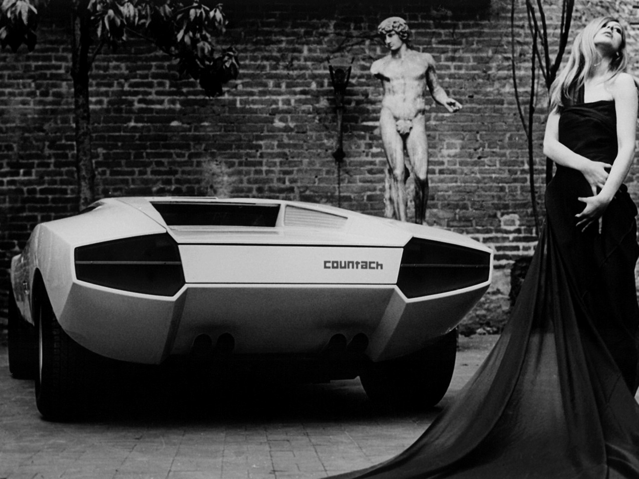 Lamborghini Countach Lp500 Prototype 1971 Old Concept Cars