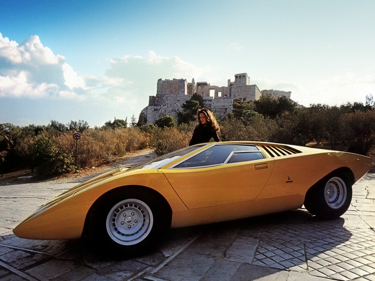 1971 Lamborghini Countach Prototype Related Infomation Specifications Weili Automotive Network