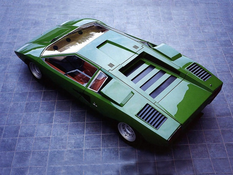 Lamborghini Countach LP500 Prototype (1972)
