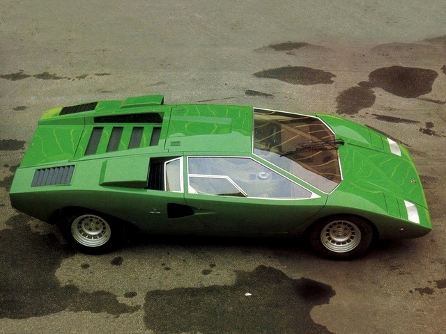lamborghini countach lp500 prototype 1972 old concept cars. Black Bedroom Furniture Sets. Home Design Ideas