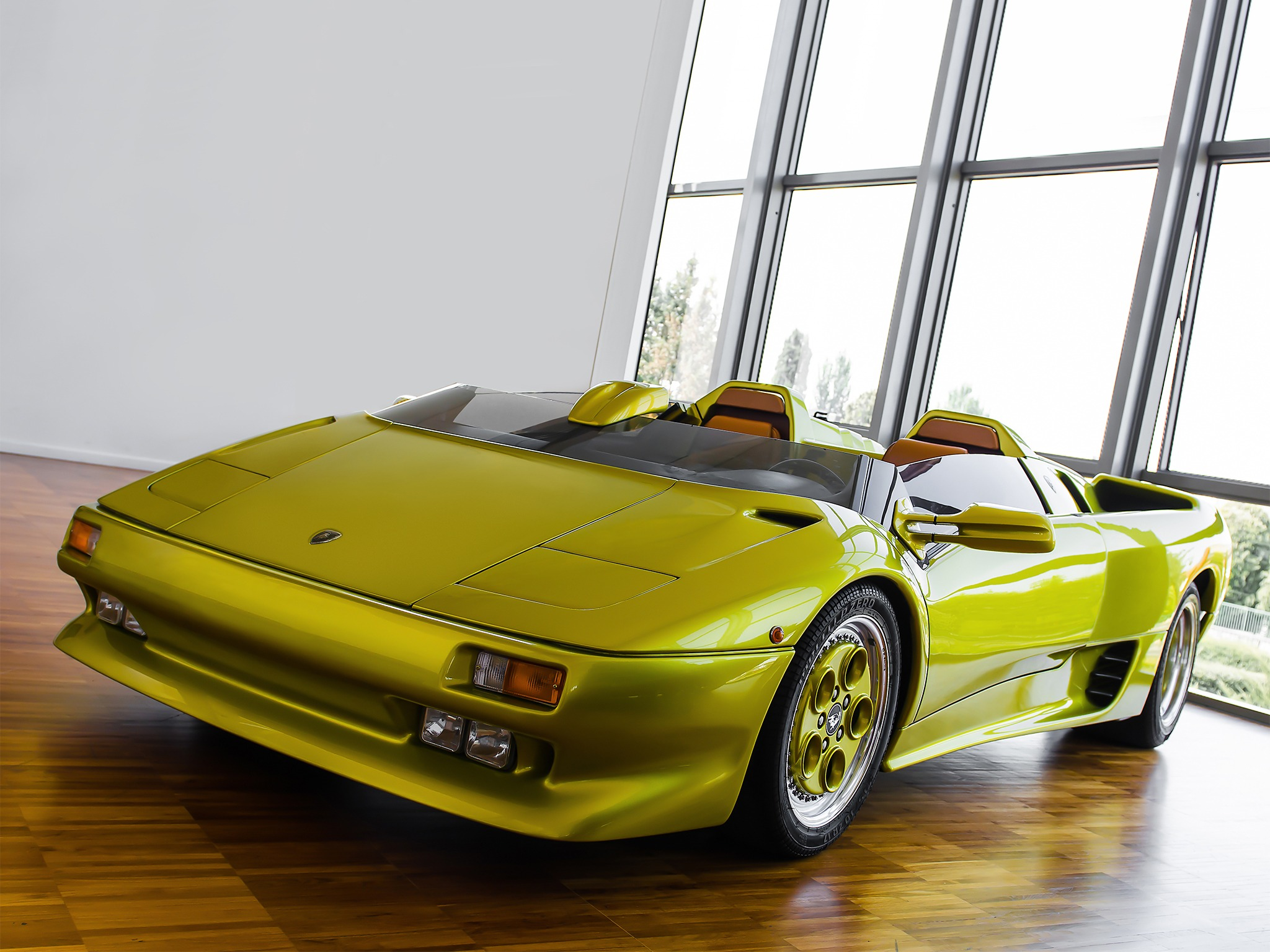 Lamborghini Diablo Roadster Prototype 1992 Old Concept