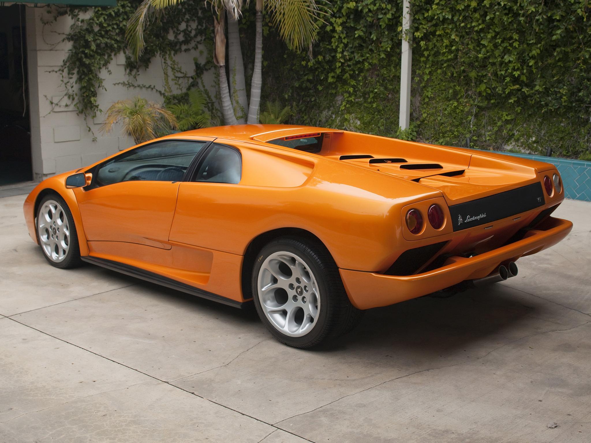 Lamborghini Diablo Styling Prototype 2000 Old Concept Cars