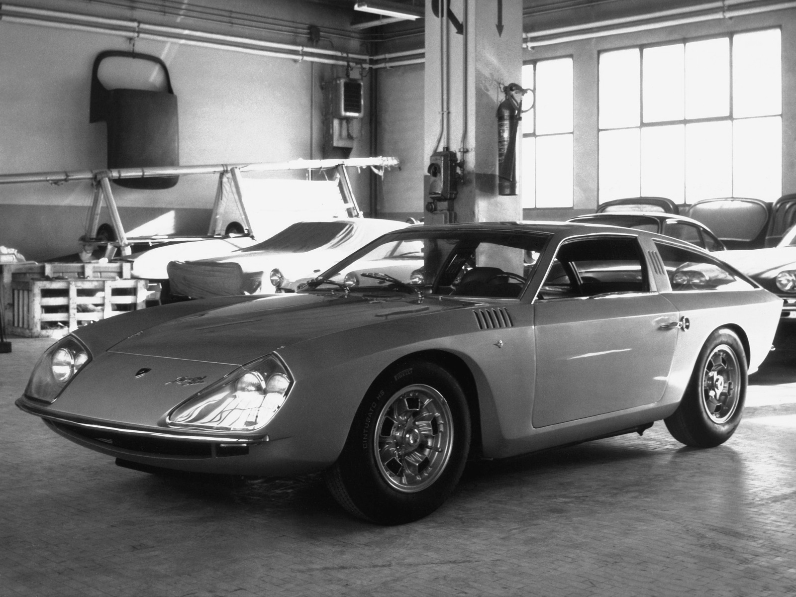 Top 5 Fastest Cars >> Lamborghini Flying Star II (1966) - Old Concept Cars