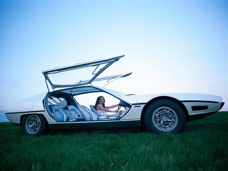 Lamborghini Marzal 1967 Old Concept Cars