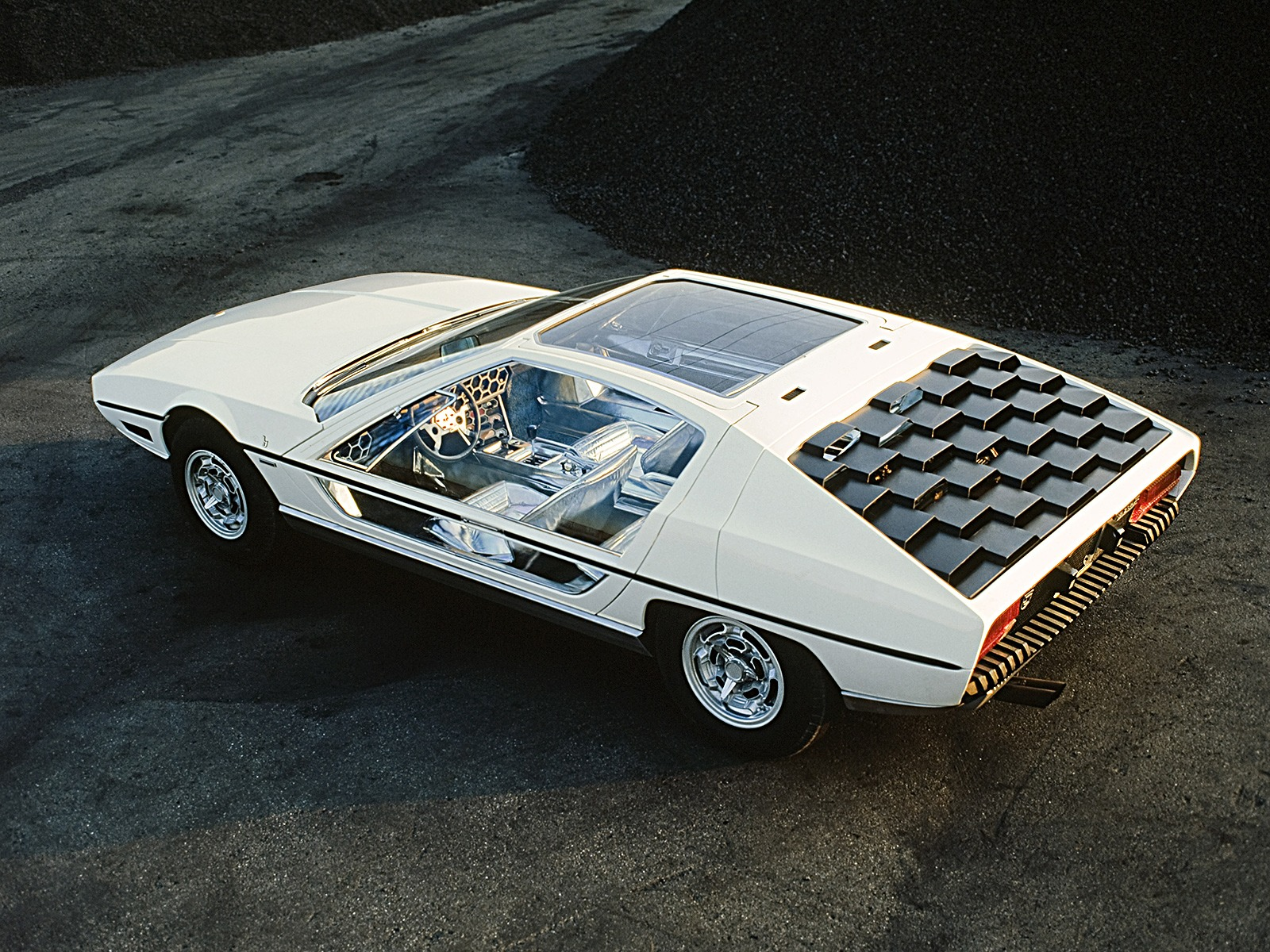 The Most Stunning Concept Cars Of 1960s Old Ford Sports Lamborghini Marzal 1967