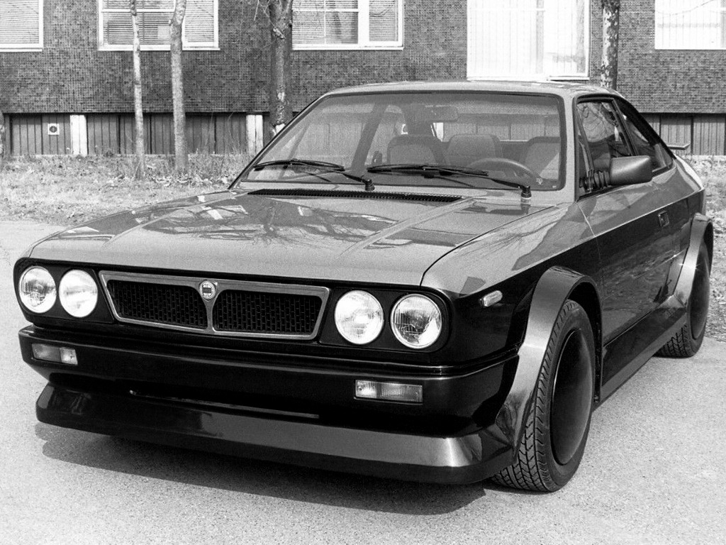 Lancia Beta Coupe HFZ 1981 Old Concept Cars