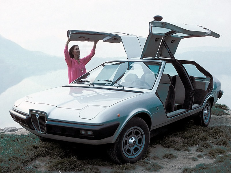 Lancia Beta Mizar 1974 Old Concept Cars