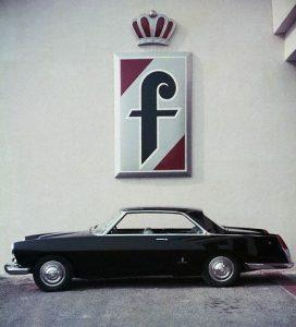 Italian Lancia Flaminia Coupe