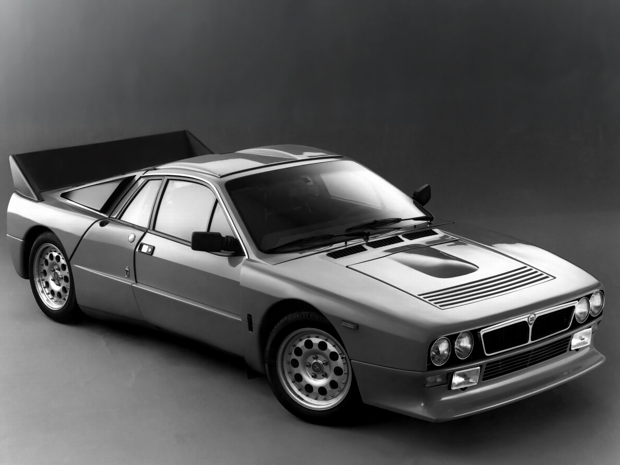 Lancia Rally 037 Stradale Concept 1982 Old Concept Cars