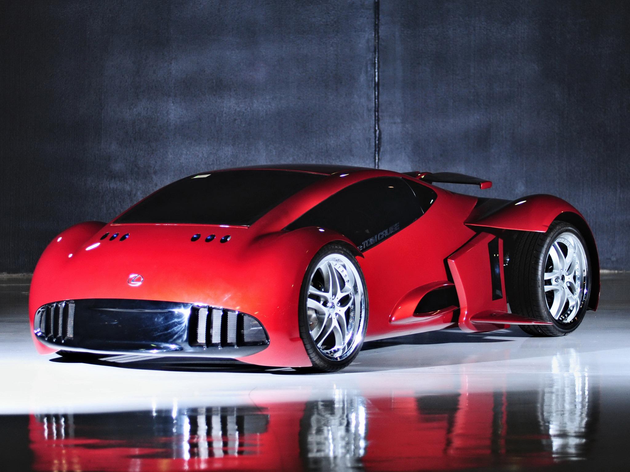 Lexus 2054 Minority Report Concept (2002) – Old Concept Cars