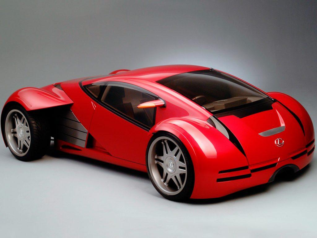 Lexus 2054 Minority Report Concept (2002)