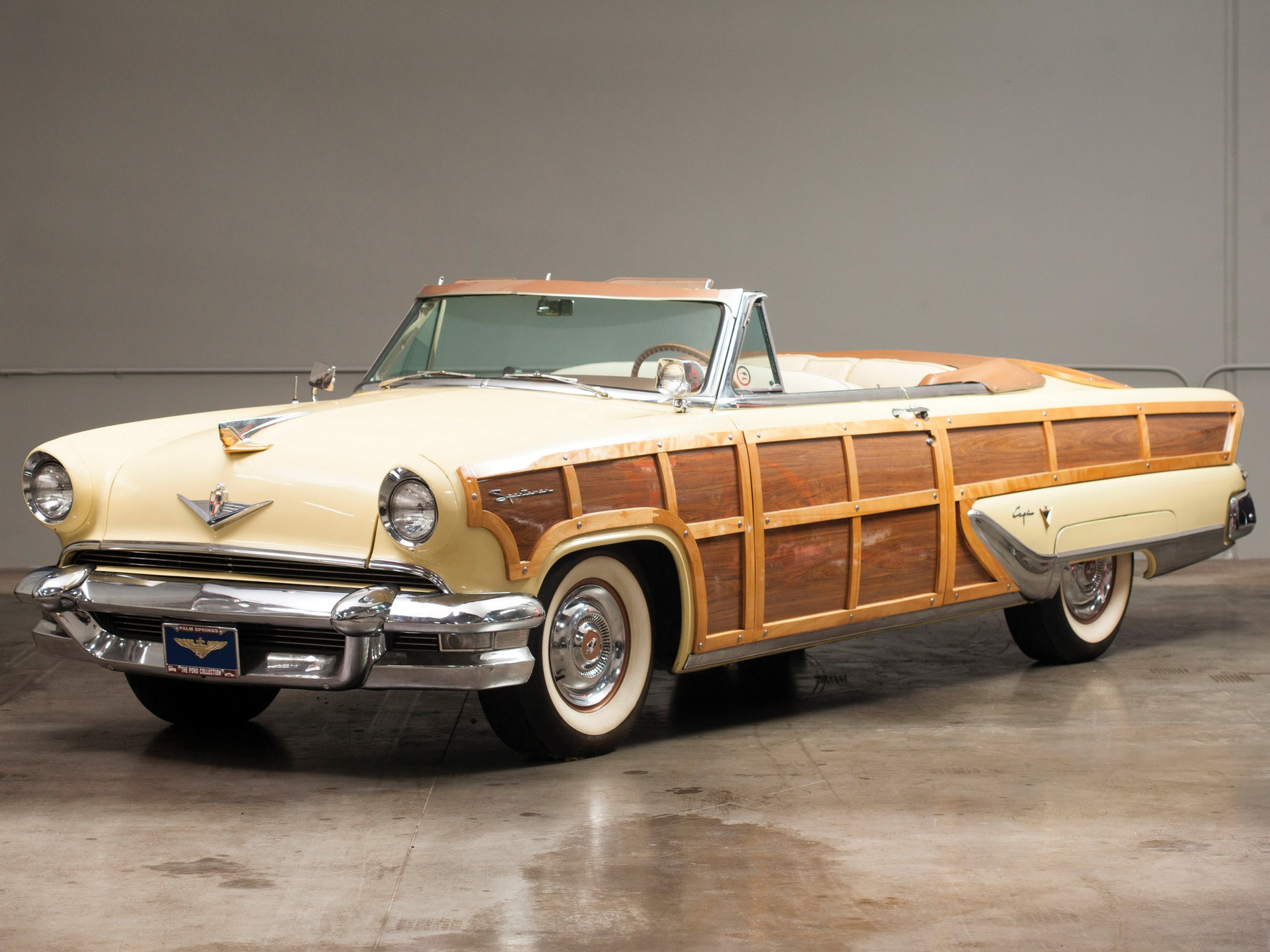 Lincoln Capri Woodie Sportsman Convertible Show Car (1955) – Old ...
