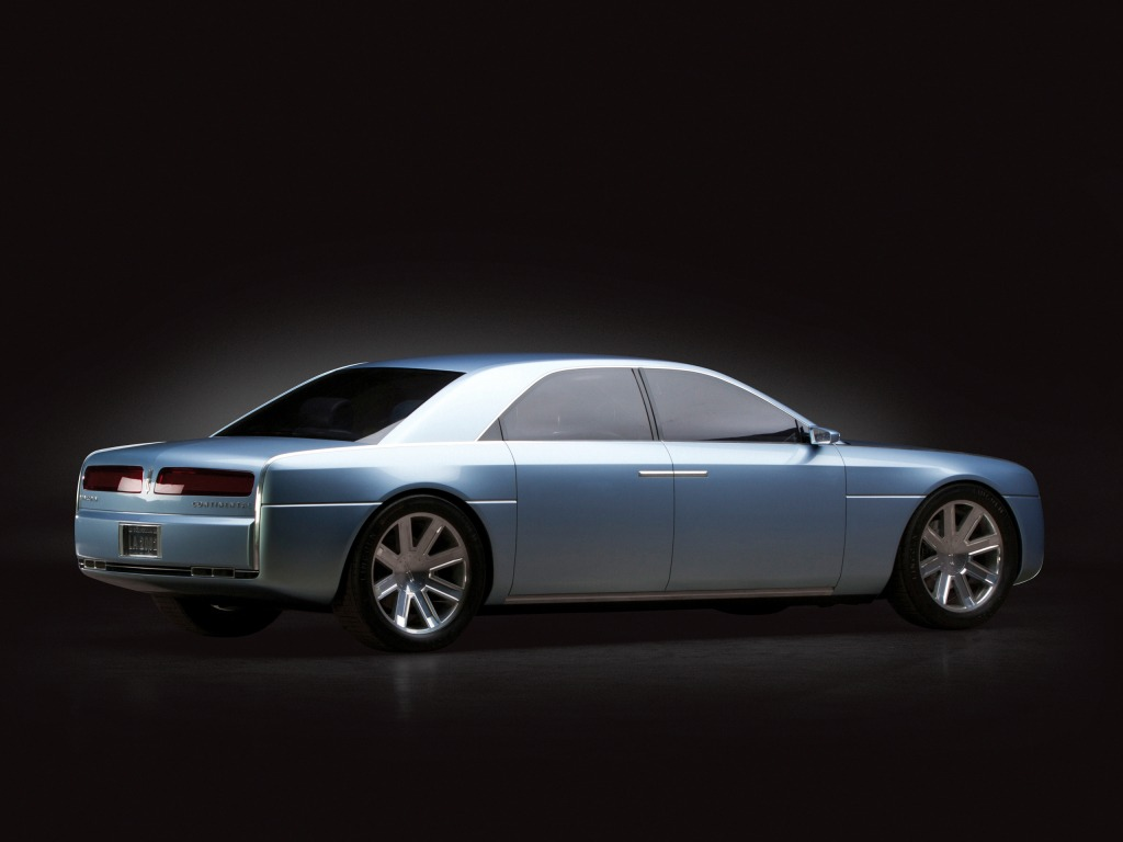 Lincoln Continental Concept 2002 Old Concept Cars