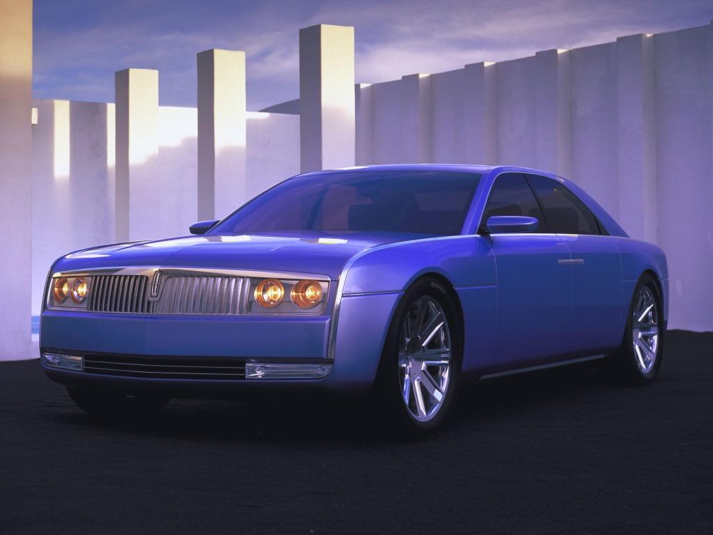lincoln continental concept 2002 old concept cars. Black Bedroom Furniture Sets. Home Design Ideas