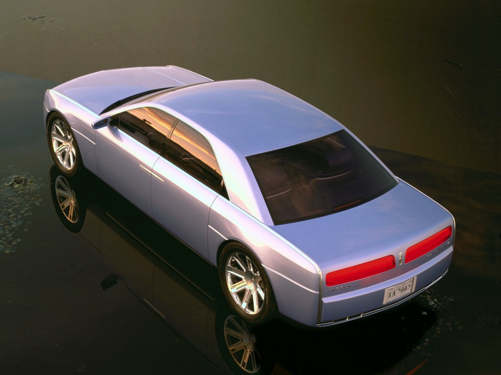 Lincoln Continental Concept (2002) – Old Concept Cars