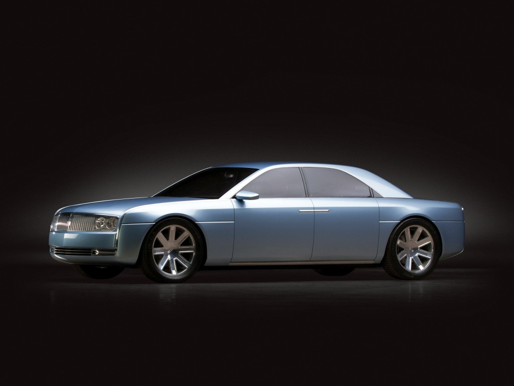 lincoln continental concept 2002 � old concept cars