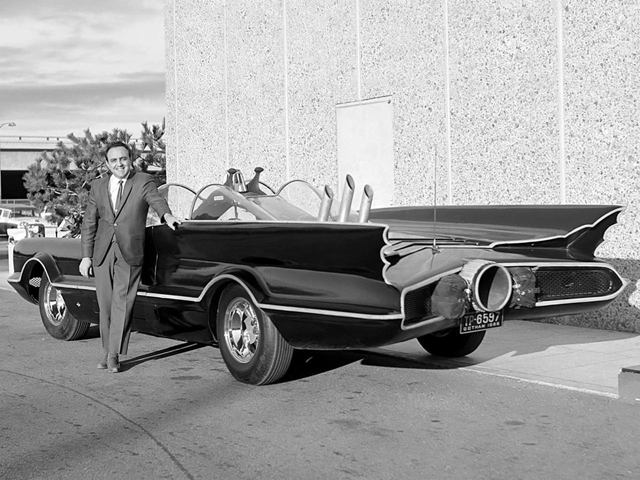 "IMCDb.org: 1966 Lincoln Futura Batmobile Barris Kustoms in ""Batman ..."