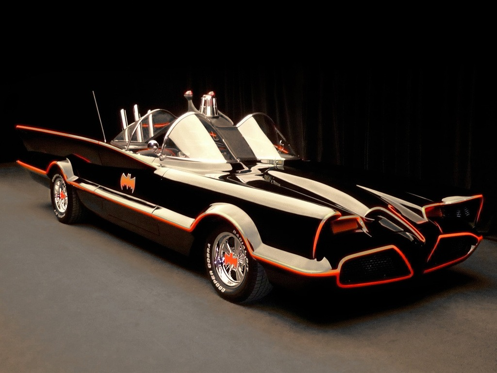 Lincoln Futura Batmobile By Barris Kustom 1966 Old