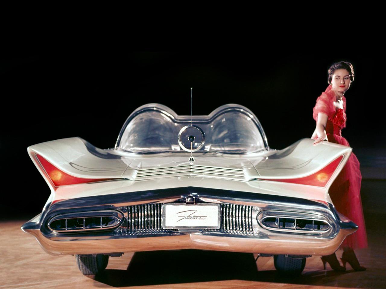 Lincoln Futura Concept Car 1955 Old Concept Cars