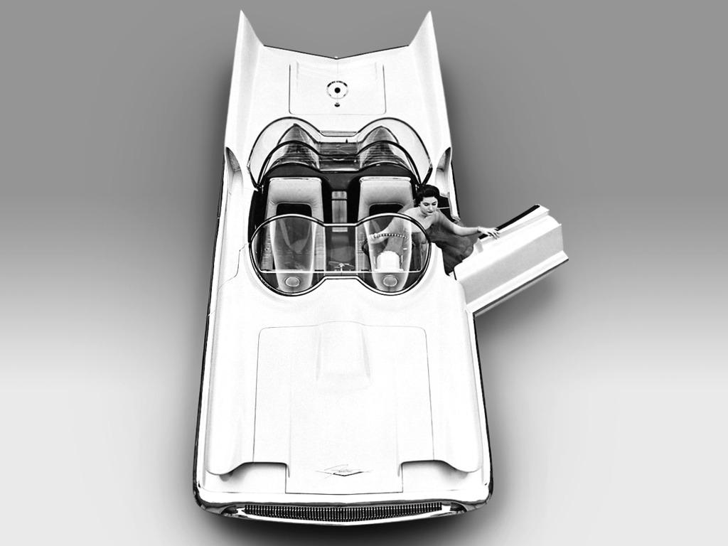 Lincoln Futura Concept Car (1955)