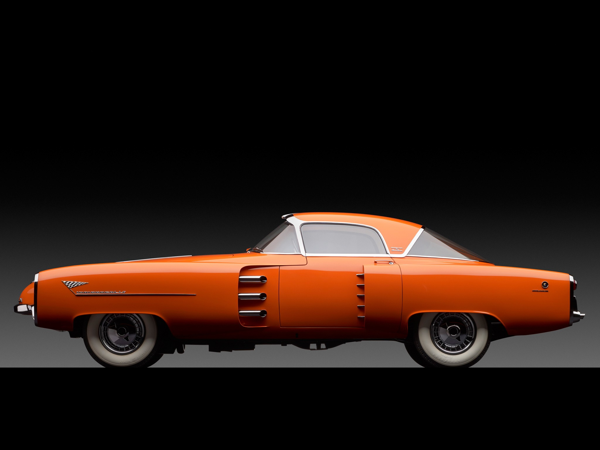 Audi San Francisco >> Lincoln Indianapolis Concept by Boano (1955) - Old Concept Cars