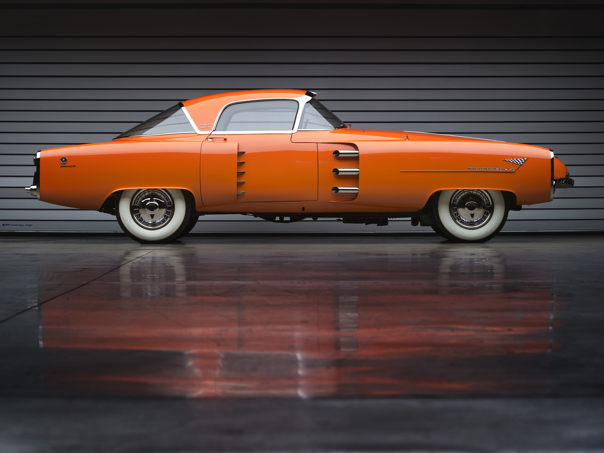 Lincoln Indianapolis Concept By Boano 1955 Old Concept