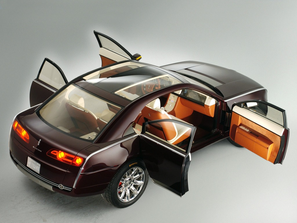 lincoln navicross   concept cars