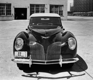 1940 Lincoln Zephyr Convertible