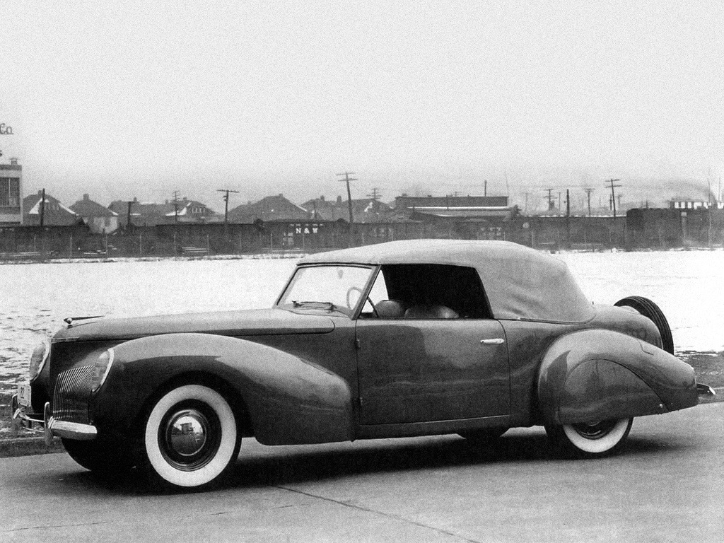 Lincoln Zephyr Continental Mark I Prototype (1939)