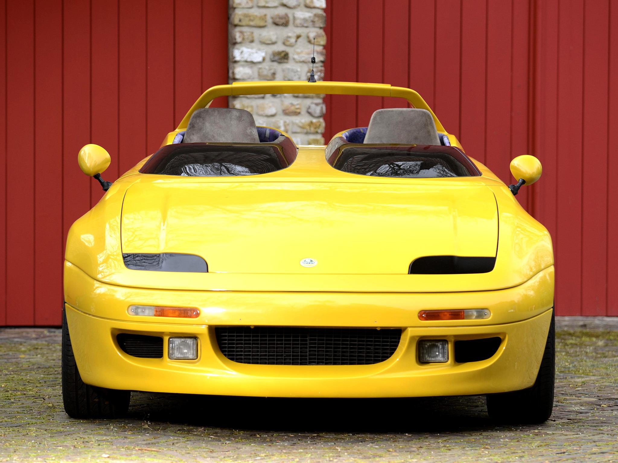 lotus m200 concept (1991) – old concept cars