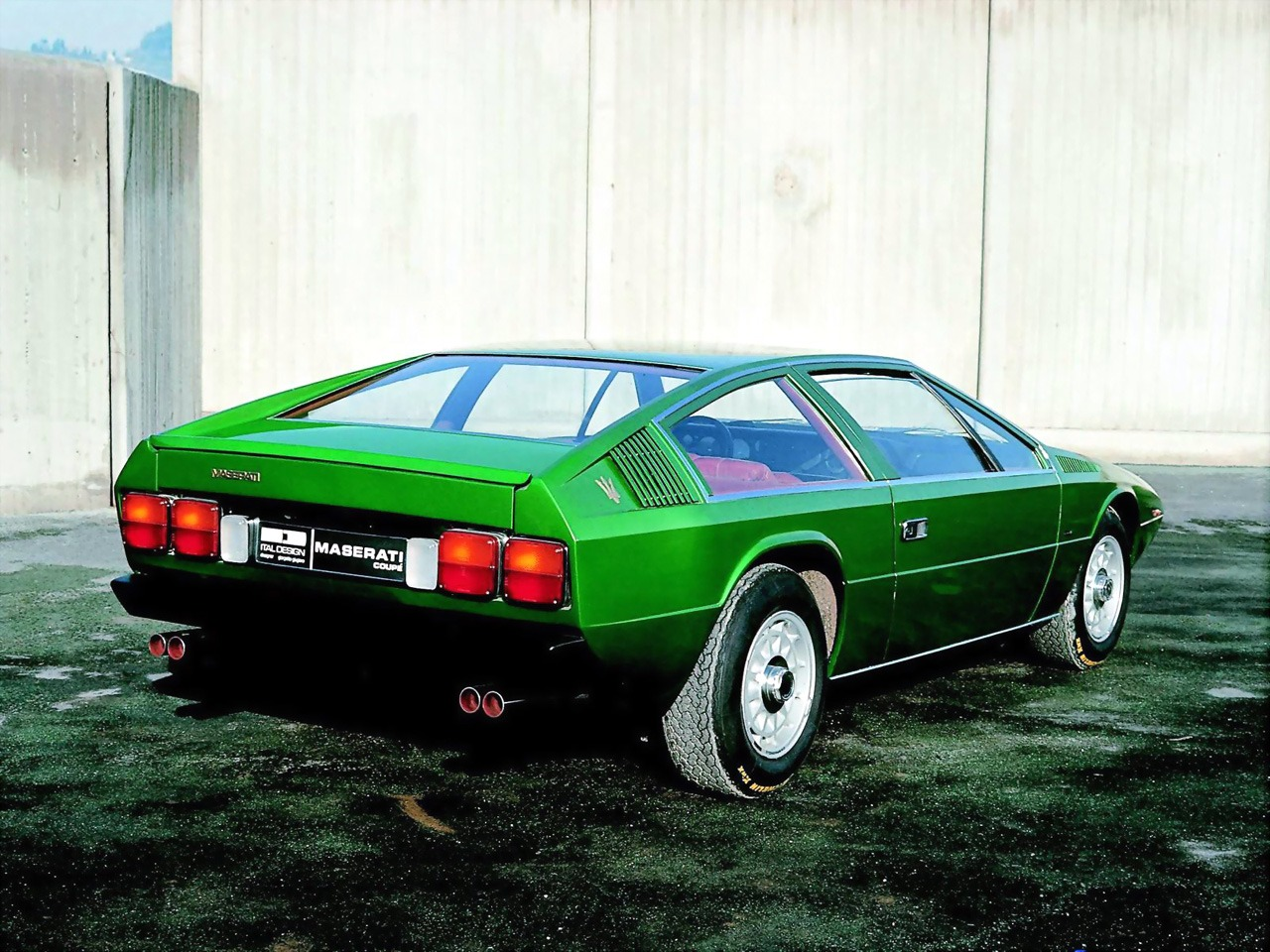 Maserati Coupe 2 2 Concept 1974 Old Concept Cars