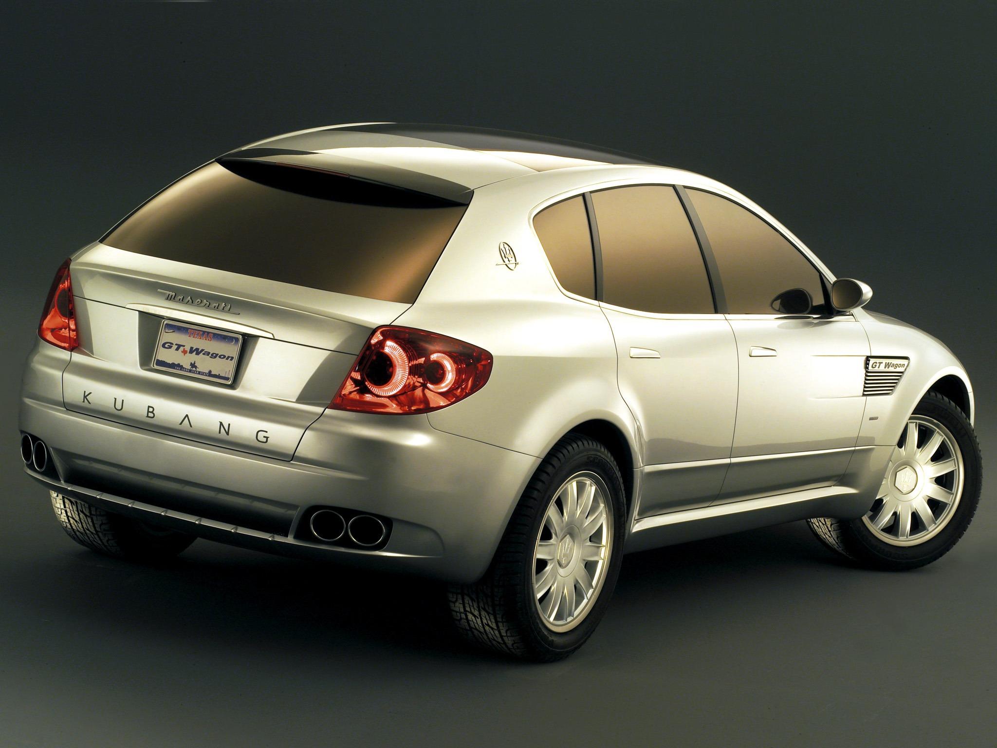 Maserati Kubang Gt Wagon Concept 2003 Old Concept Cars