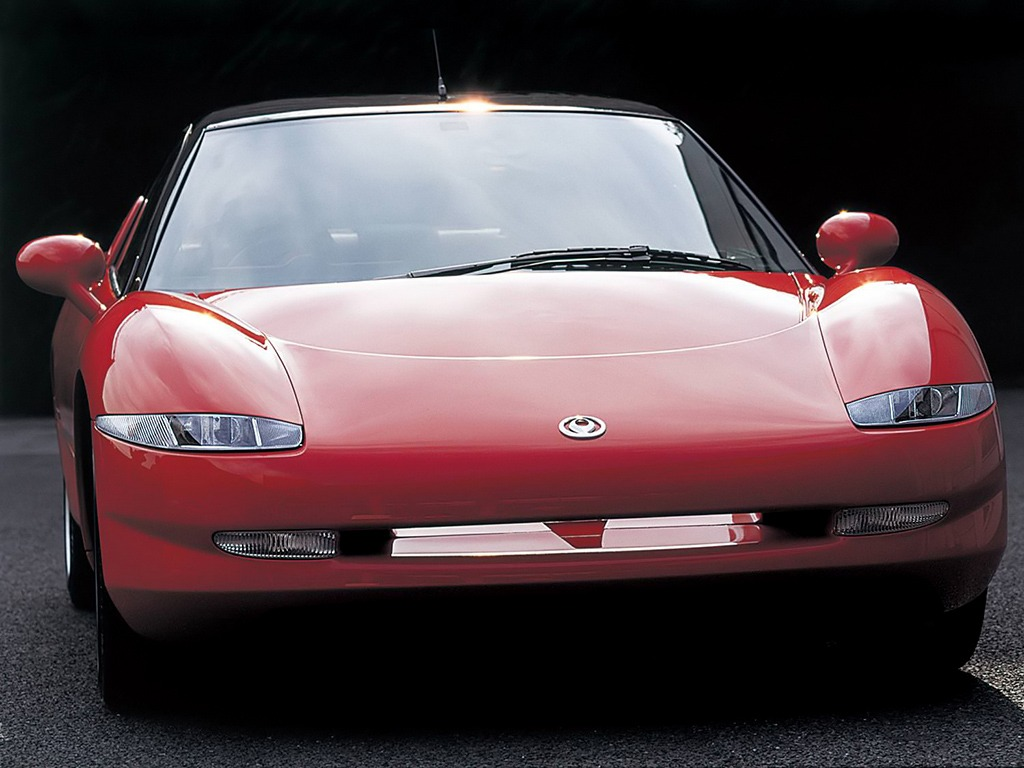 mazda rx 01 concept 1995 old concept cars. Black Bedroom Furniture Sets. Home Design Ideas