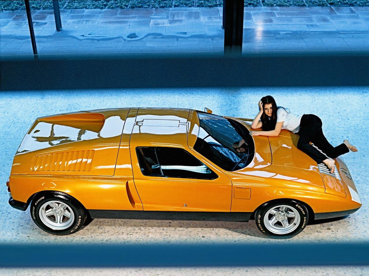 Mercedes-Benz C111-I Concept (1969) – Old Concept Cars