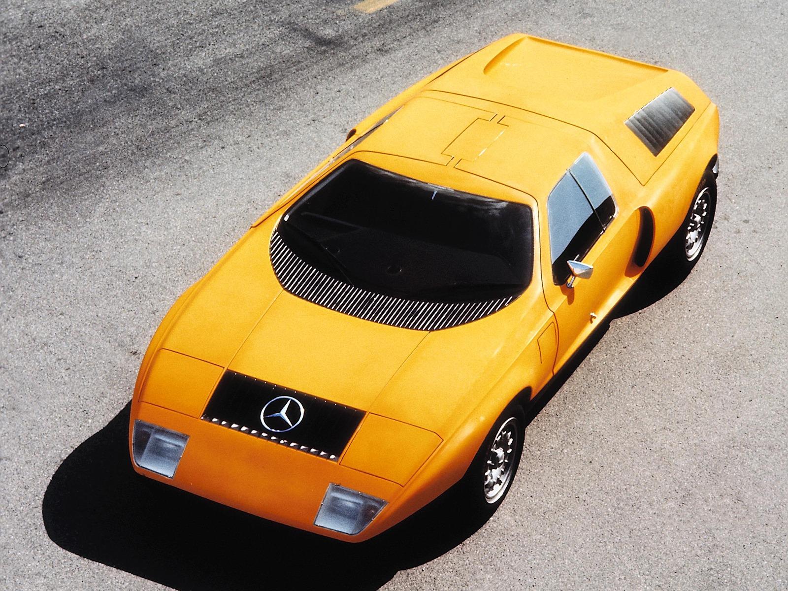 mercedes benz c111 i concept 1969 old concept cars. Black Bedroom Furniture Sets. Home Design Ideas