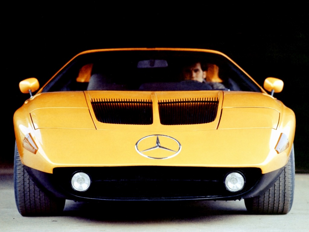 Mercedes Benz C111 Ii Concept 1970 Old Concept Cars