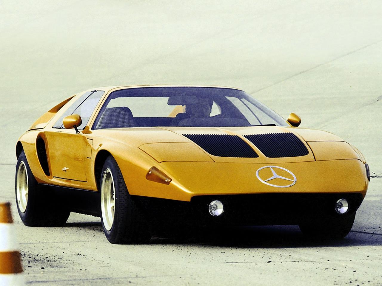 mercedes benz c111 ii d concept 1976 old concept cars. Black Bedroom Furniture Sets. Home Design Ideas