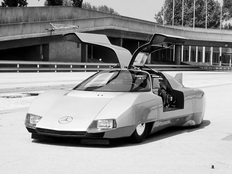 Auto Care Near Me >> Mercedes-Benz C111-III Diesel Concept (1977) - Old Concept ...